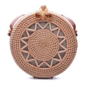 Плетена дамска чанта