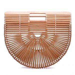 дървена дамска чанта