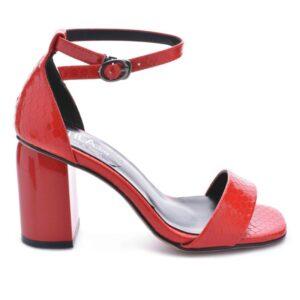 damski sandali na debel tok
