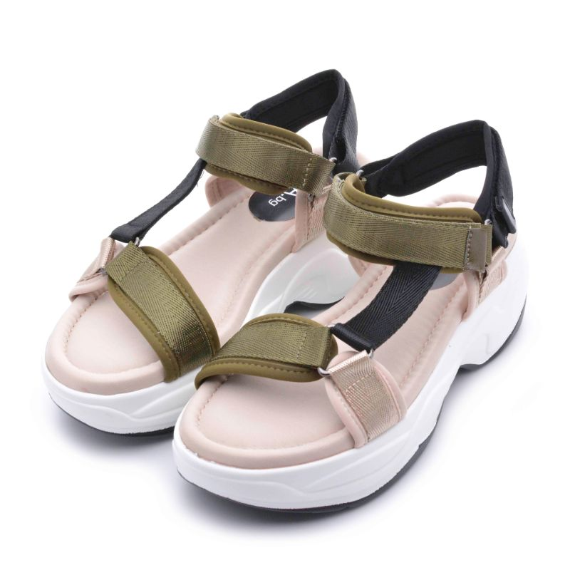 Damski sandali s lepenki DUO