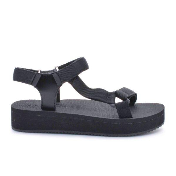 Damski sandali s lepenki LEO